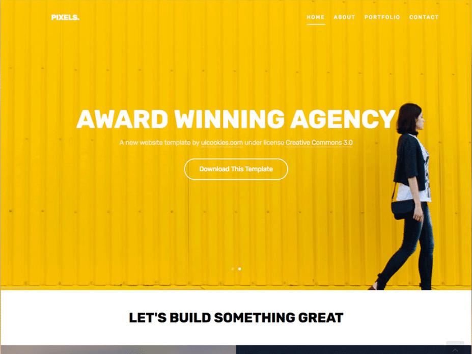 Classy Portfolio Website