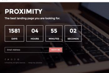 Free Beautiful Landing Page HTML Template