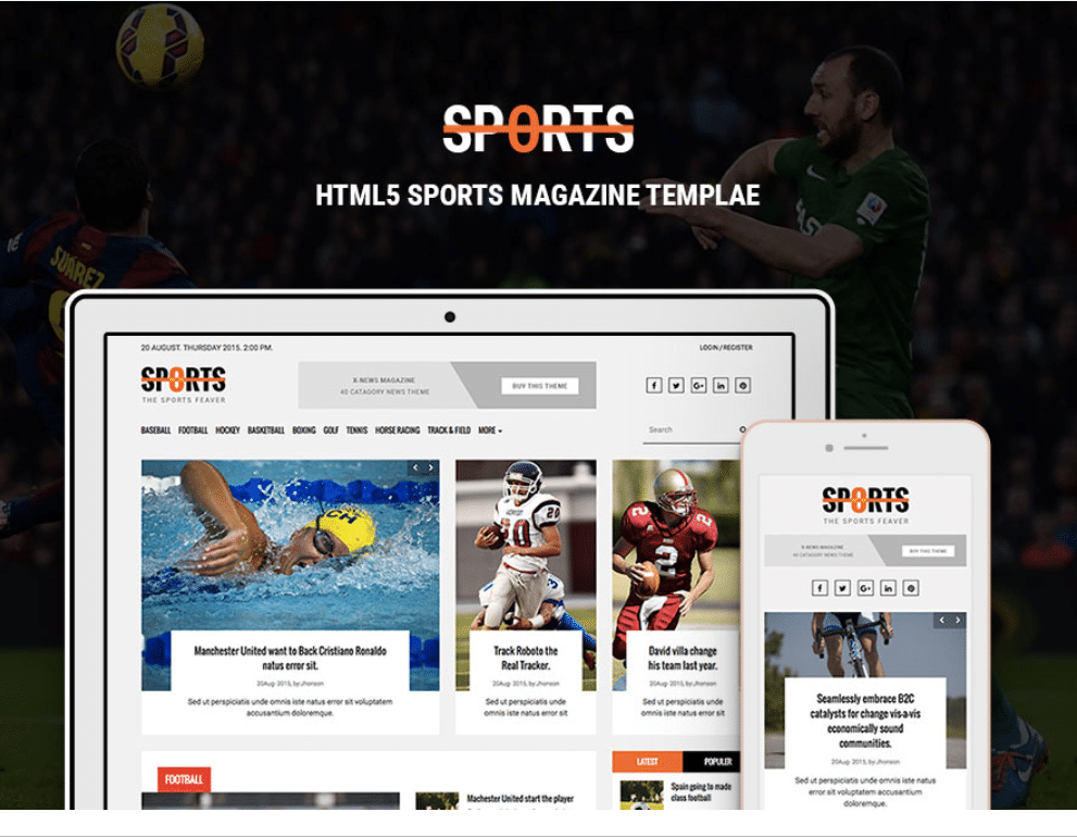 Intense Sports Online Magazine