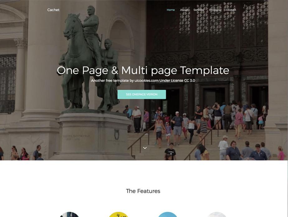 Online Flexible Landing Page