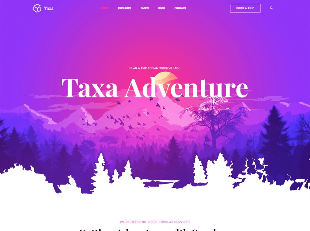 Adventurous Travel Website