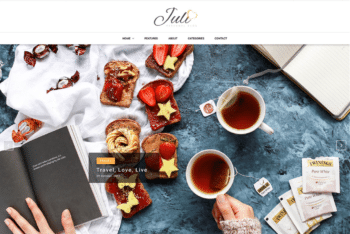 Free Comfort Food Blog HTML Template