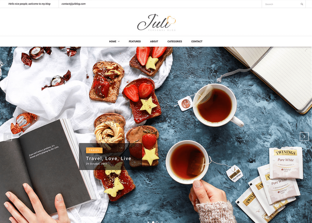 Comfort Food Blog