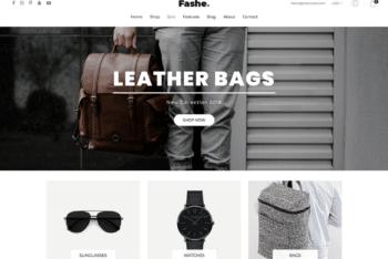Free Modern Classy Fashion Store HTML Template