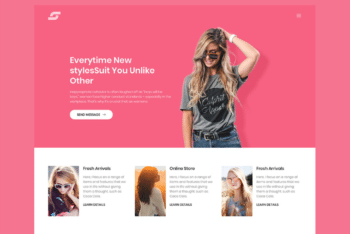 Free Beautiful Personal Portfolio HTML Template