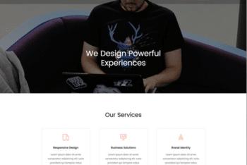 Free Professional Online Portfolio HTML Template