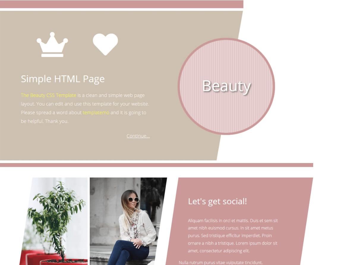 Beauty Blog Website