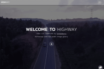 Free Beautiful Travel Landscape Website HTML Template
