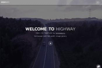 Free Beautiful Travel Landscape Website HTML Template