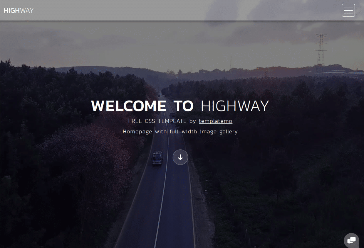 Beautiful Travel Landscape Website