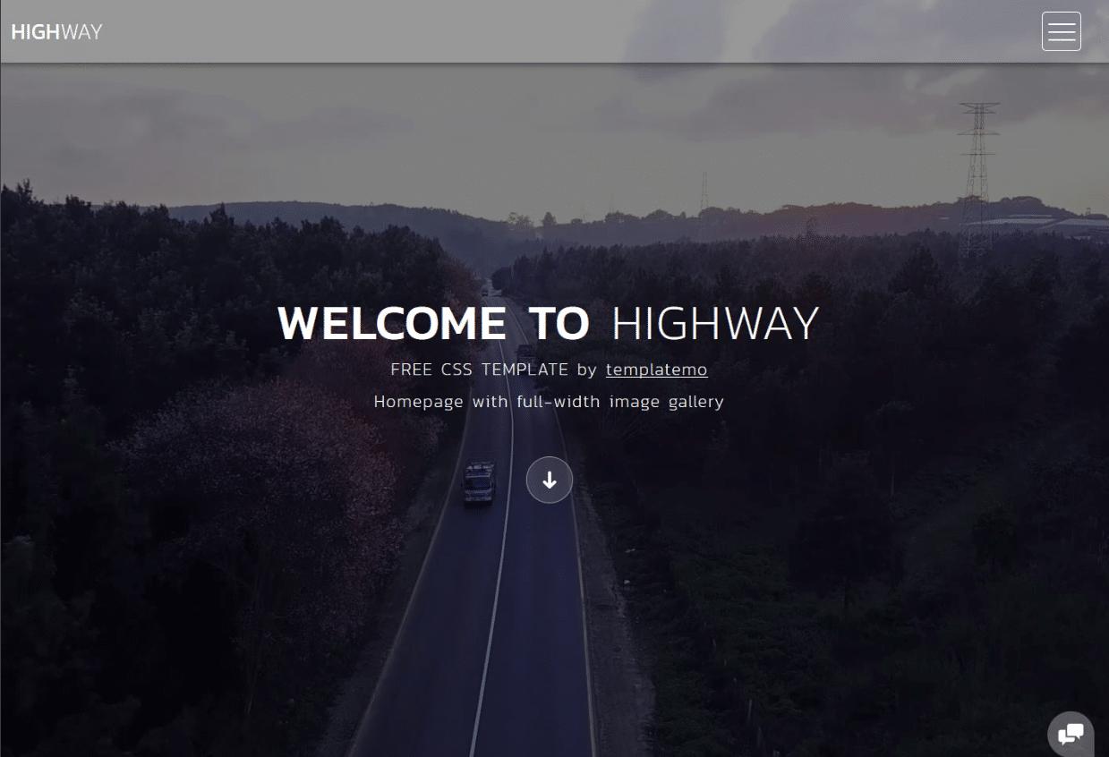 Beautiful Travel Landscape Website