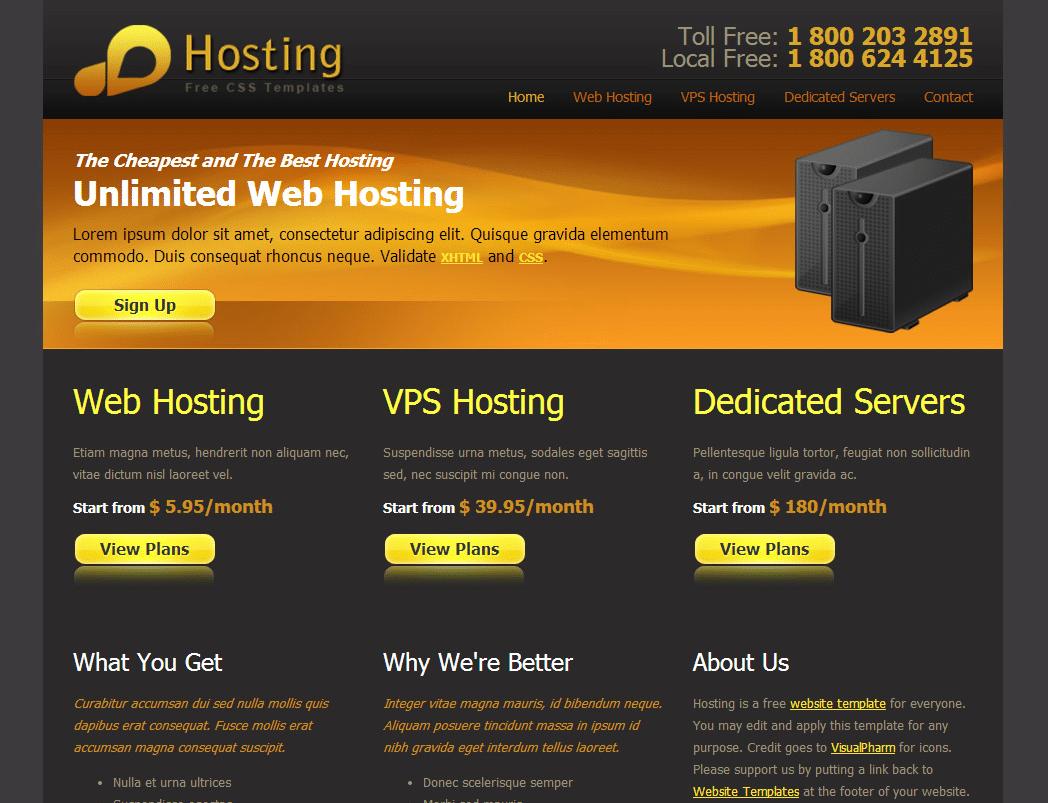 Matte Web Hosting