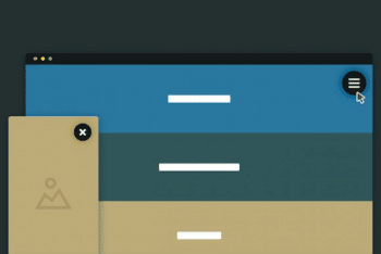 Free Website Cards Navigation HTML Template