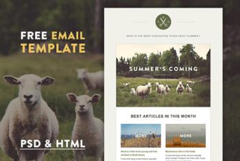 Free Farm Life Website Design HTML Template