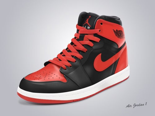 High Cut Nike Shoes