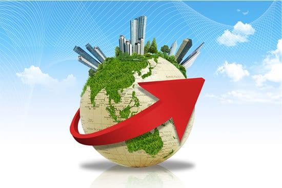 Modern World Travel Logo