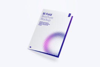 A3 Sized Bi-fold Brochure Mockup – Available in PSD Format
