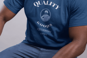 Men T-shirt Template – Upload Your Design & Get the Desired T-shirt in No Time