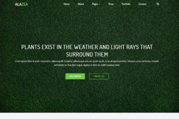 Free Plant Nursery Garden HTML Template