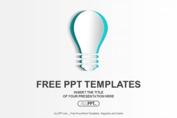 Free Abstract Minimalist Idea Powerpoint Template