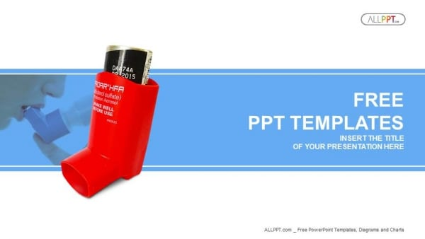 Asthma Inhaler Scene