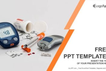 Free Basic Diabetic Tools Powerpoint Template