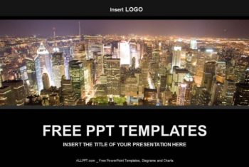 Free Big City Business Powerpoint Template