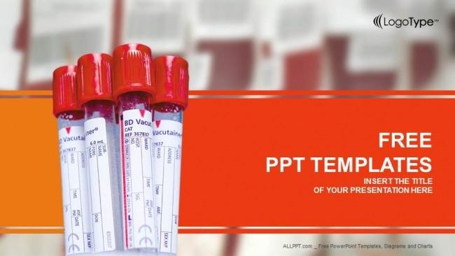 Biochemistry Blood Test Vials