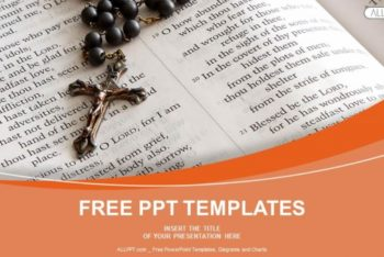 Free Bead Rosary Scene Powerpoint Template