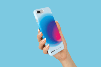 Free iPhone 8 Plastic Case PSD Mockup
