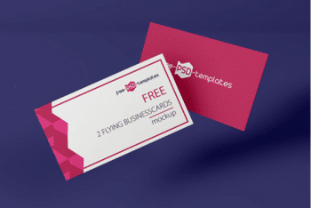 Free Business Card PSD Template – Available with Fully Customizable Features