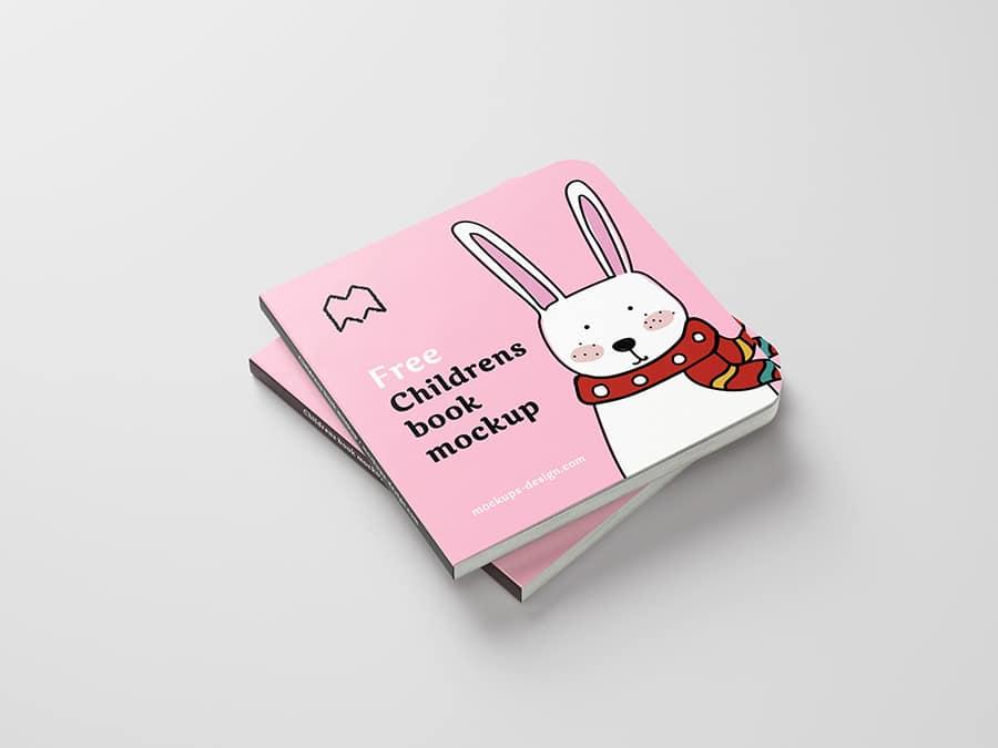 Children S Book Cover Mockup : Children s book psd mockup download for free designhooks