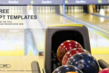 Free Bowling Session Feature Powerpoint Template