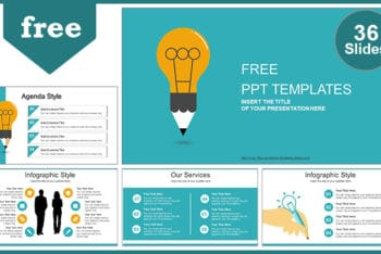 Free Good Idea Theme Powerpoint Template