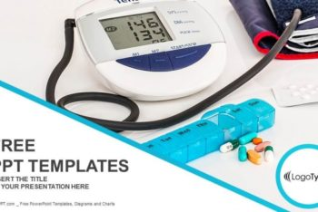 Free Digital Hypertension Measure Powerpoint Template