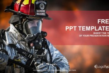 Free Firefighter Duty Concept Powerpoint Template