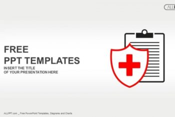 Free Minimalist Medical Icon Powerpoint Template