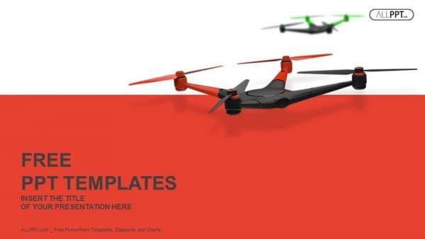 Flying Quad Drone