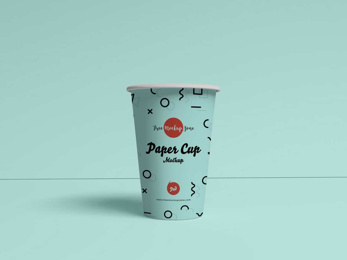 Free Paper Cup PSD Template Download for Free - DesignHooks