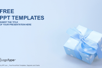 Free Lovely Gift Box Powerpoint Template