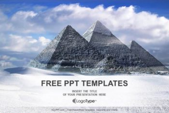 Free Egypt Great Pyramids Powerpoint Template