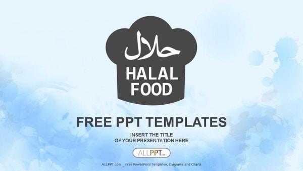 Halal Food Concept