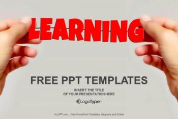 Free Friendly Learning Concept Powerpoint Template