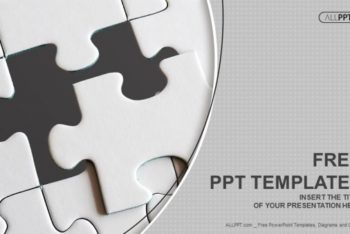 Free Jigsaw Puzzle Pieces Powerpoint Template