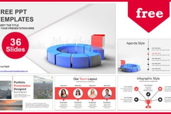 Free Business Leader Concept Powerpoint Template