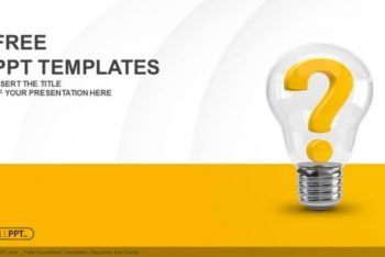 Free Bright Ideas Light Bulb Powerpoint Template