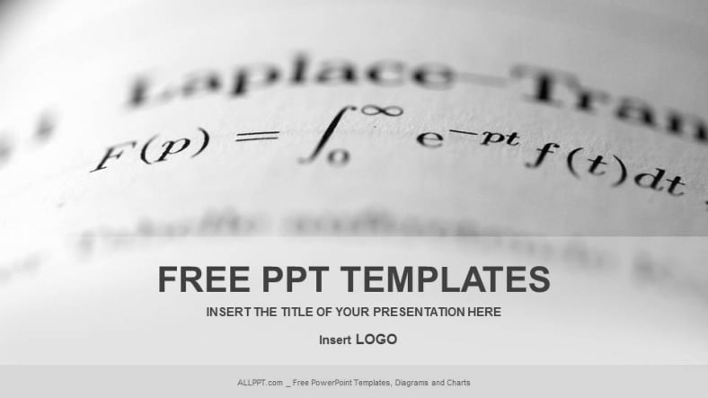 free advanced math education powerpoint template