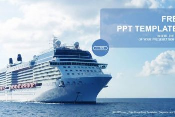 Free Luxury Cruise Ship Powerpoint Template