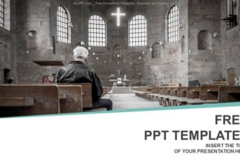 Free Dramatic Church Session Powerpoint Template