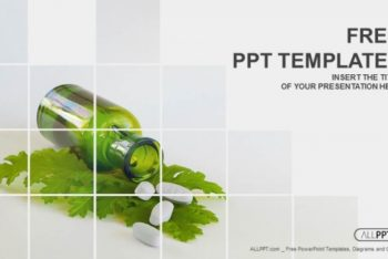 Free Herbal Medicine Concept Powerpoint Template